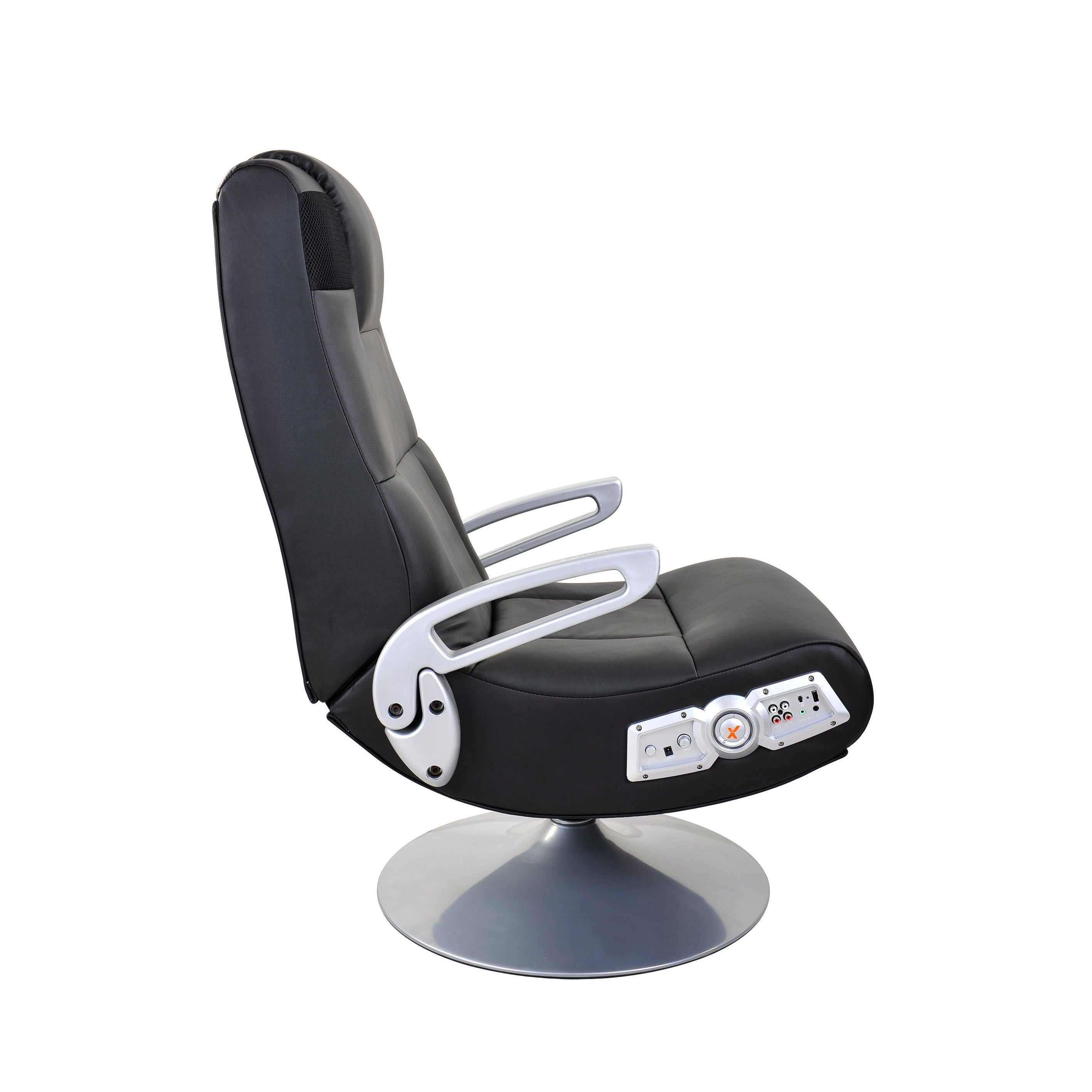 Shop X Rocker Wireless Pedestal Gaming Chair Black Overstock