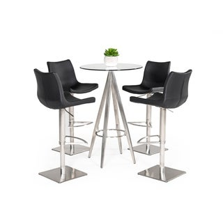 Link to Modrest Dallas Modern Silver Bar Table Similar Items in Dining Room & Bar Furniture