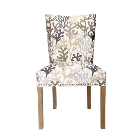 Julia Upholstered Fan Back Dining Chair (Set of 2)