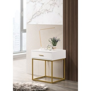 LuXeo Catalina One Drawer Nightstand