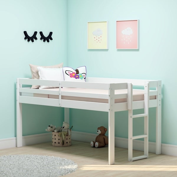 Jasper Twin Wood Junior Loft Bed