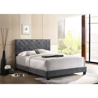 Link to Suffolk Velvet Nailhead Bed Similar Items in Bedroom Furniture