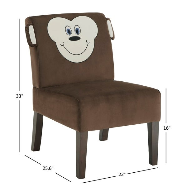 Bentley Velvet Animal Chair by iNSPIRE Q Junior