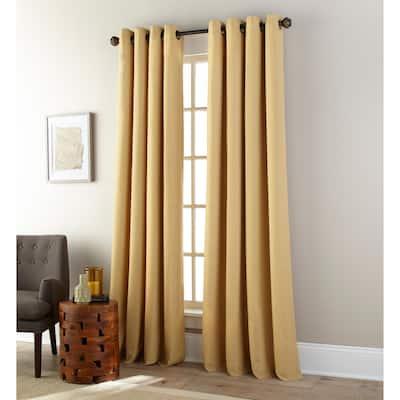 Grand Avenue Carey Grommet Single Curtain Panel