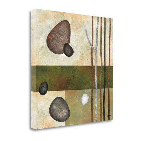 """Sticks and Stones VI"" by Glenys Porter, Giclee Print on Gallery Wrap Canvas"