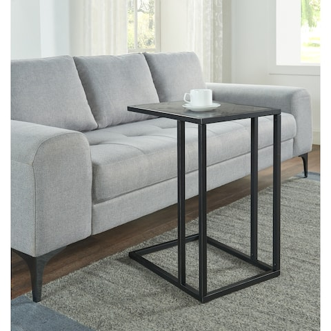 Martin Svensson Home Huntington Solid Wood and Metal C-Table