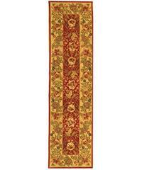 Safavieh Handmade Boitanical Red/ Ivory Wool Runner (2'6 x 12')