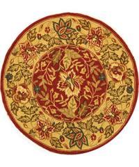 Safavieh Handmade Paradise Red Wool Rug 3 Round Free
