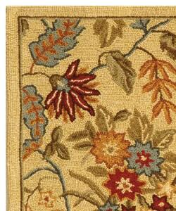 Safavieh Handmade Paradise Ivory Wool Rug (2'6 x 4')