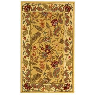 Safavieh Handmade Paradise Ivory Wool Rug (2'9 x 4'9)