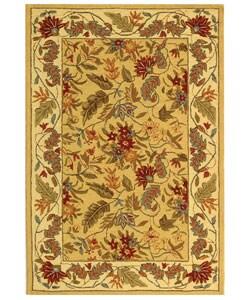Safavieh Handmade Paradise Ivory Wool Rug (3'9 x 5'9)