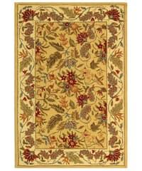 Safavieh Handmade Paradise Ivory Wool Rug - 3'9 x 5'9