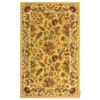 Safavieh Handmade Paradise Ivory Wool Rug (5'3 x 8'3)
