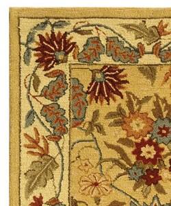 Safavieh Handmade Paradise Ivory Wool Rug (2'6 x 6') - Thumbnail 2