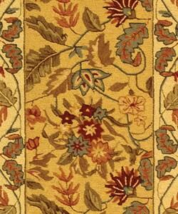 Safavieh Handmade Paradise Ivory Wool Rug (2'6 x 8') - Thumbnail 1