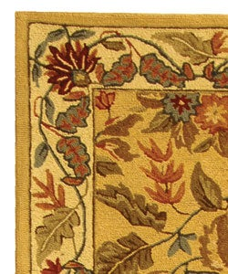 Safavieh Handmade Paradise Ivory Wool Rug (2'6 x 8') - Thumbnail 2