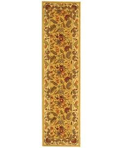 Safavieh Handmade Paradise Ivory Wool Rug (2'6 x 10')