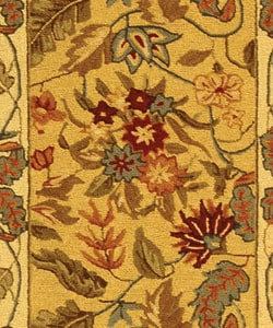Safavieh Handmade Paradise Ivory Wool Rug (2'6 x 12') - Thumbnail 1