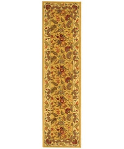 Safavieh Handmade Paradise Ivory Wool Rug (2'6 x 12')