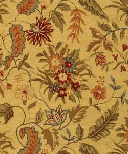 Safavieh Handmade Paradise Ivory Wool Rug (4'6 x 6'6 Oval) - Thumbnail 1