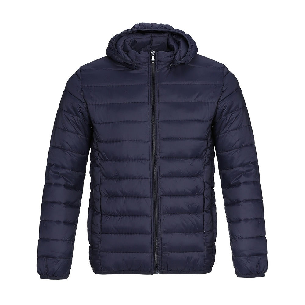 Mens Lightweight Packable Outwear Puffer Down Coats