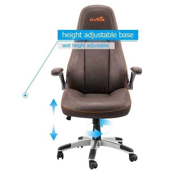 Shop Ovios Ergonomic Office Chair,Modern Computer Desk Chair ...