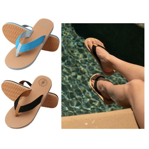Aerusi Natural Open Toe Flip flop