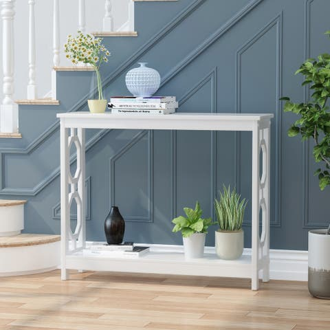 """Merrimac Contemporary Console Table by Christopher Knight Home - 39.50"""" W x 11.90"""" L x 31.90"""" H"""
