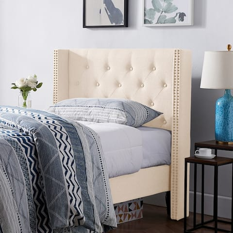 Tourmaline Contemporary Upholstered Twin Headboard by Christopher Knight Home