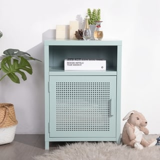 Taylor & Olive Chia Metal Storage Cabinet