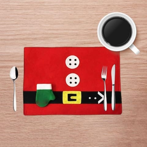 Santa Place Mat -set of two