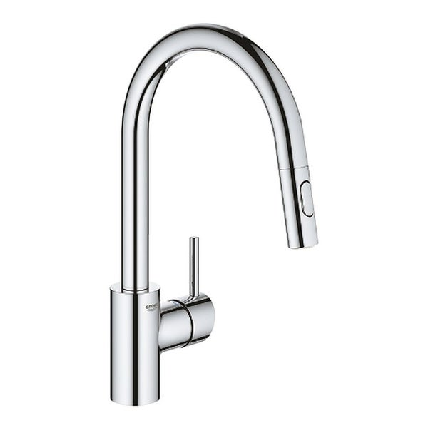 Grohe Concetto Single Hole Pullout Swivel Kitchen Faucet. Opens flyout.