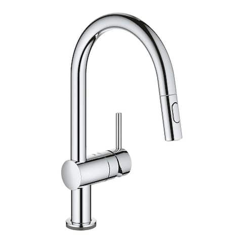 Grohe Minta Touch Single Hole Pullout Swivel Kitchen Faucet