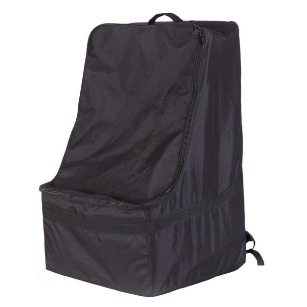 Black Children's Car Seat Travel and Storage Backpack Bag. Opens flyout.