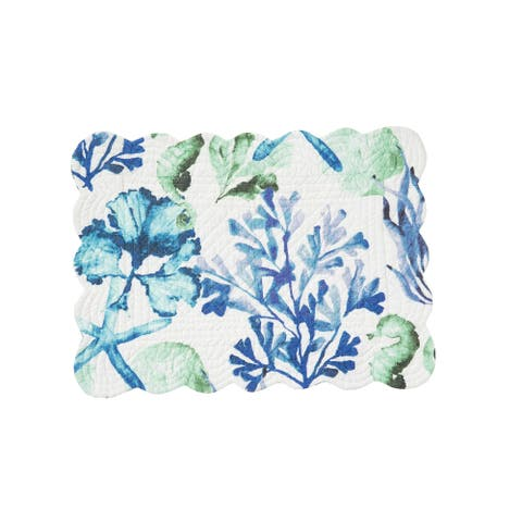Bluewater Bay Reversible Placemat Set of 6