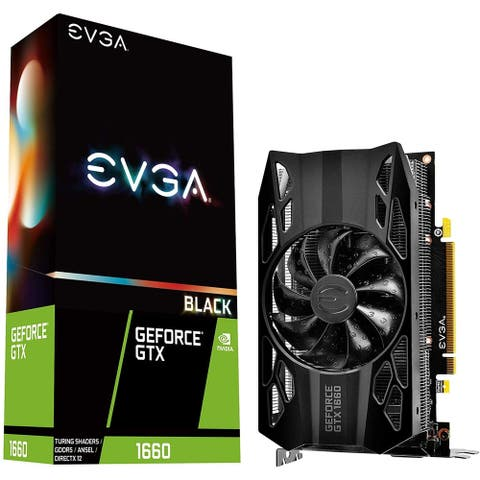 EVGA GeForce GTX 1660 Graphic Card - 6 GB GDDR5
