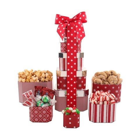 Holiday Tower of Treats