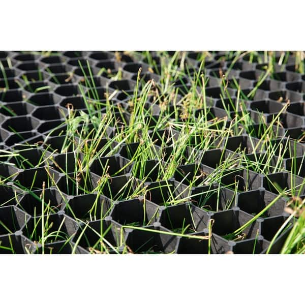 Shop Set Of 4 Permeable Grass And Gravel Pavers For Parking Lots