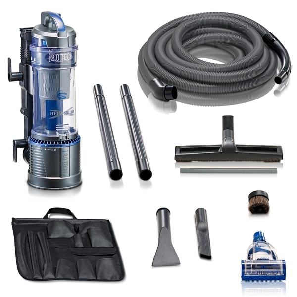 Prolux 2.0 Powerful Wall Mountable Bagless Garage Vacuum w/ Attachments and 5 YR Warranty