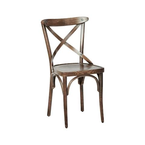 The Gray Barn Balmoral X-back Dining Chair (Set of 2)