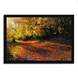 """Auburn Trail"", Framed Photograph Print"