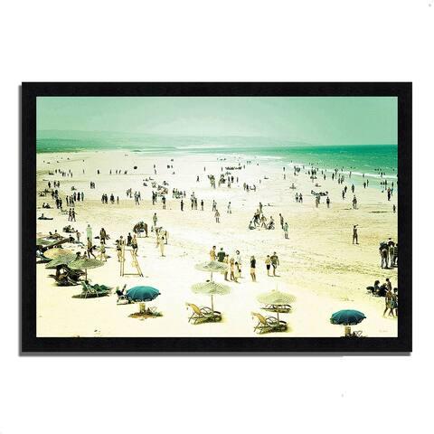 """""""Caravan of Dreams"""" by Keri Bevan, Framed Painting Print"""