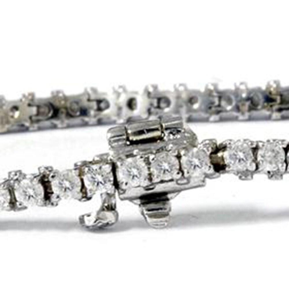 Shop 6 1/4ct Lab Grown Diamond Tennis Bracelet 14K White Gold - 30321432
