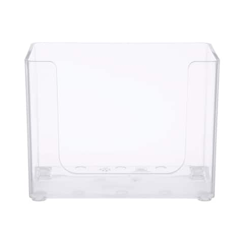 Kenney Storage Made Simple Drawer Organizer Bin, Clear