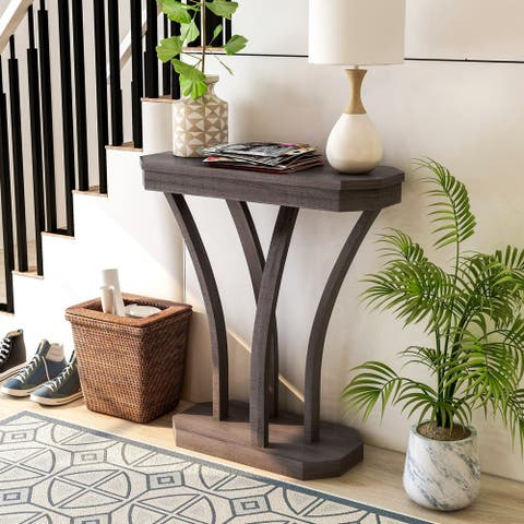 Furniture of America Ovis Transitional Console Table