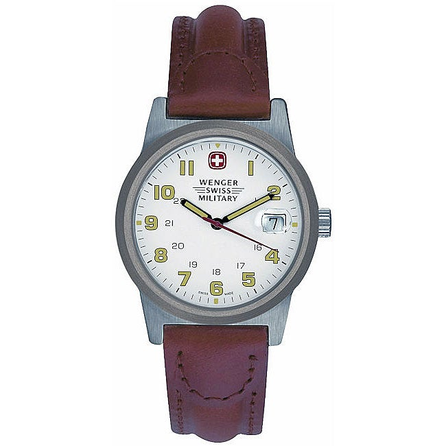 Wenger Women's Brown Leather Classic Field Watch