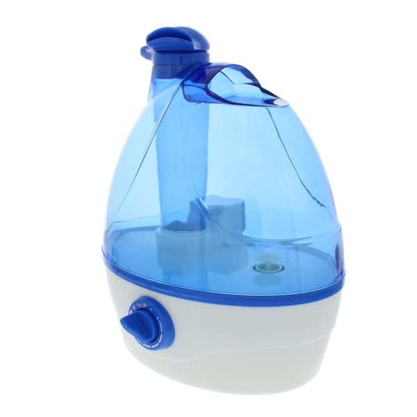 Comfort Zone CZHD24 Ultrasonic Humidifier Dual Nozzles White Cool Mist 6 Gallon