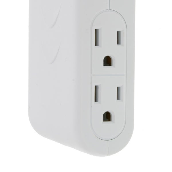 2 USB Space Saver Bright-Way 4 Outlet