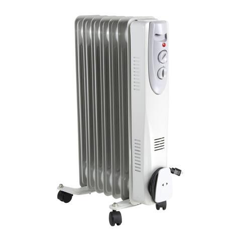 Comfort Zone CZ7007J2 Oil-Filled Electric Radiator Heater