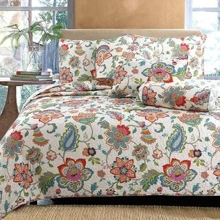 Link to Spring Floral Reversible 3-Piece Quilt Set Similar Items in Quilts & Coverlets
